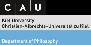 Logo CAU Kiel | Department of Philosophy