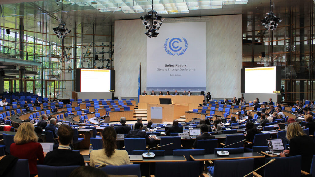 United Nations Klimawandel Konferenz, Bonn